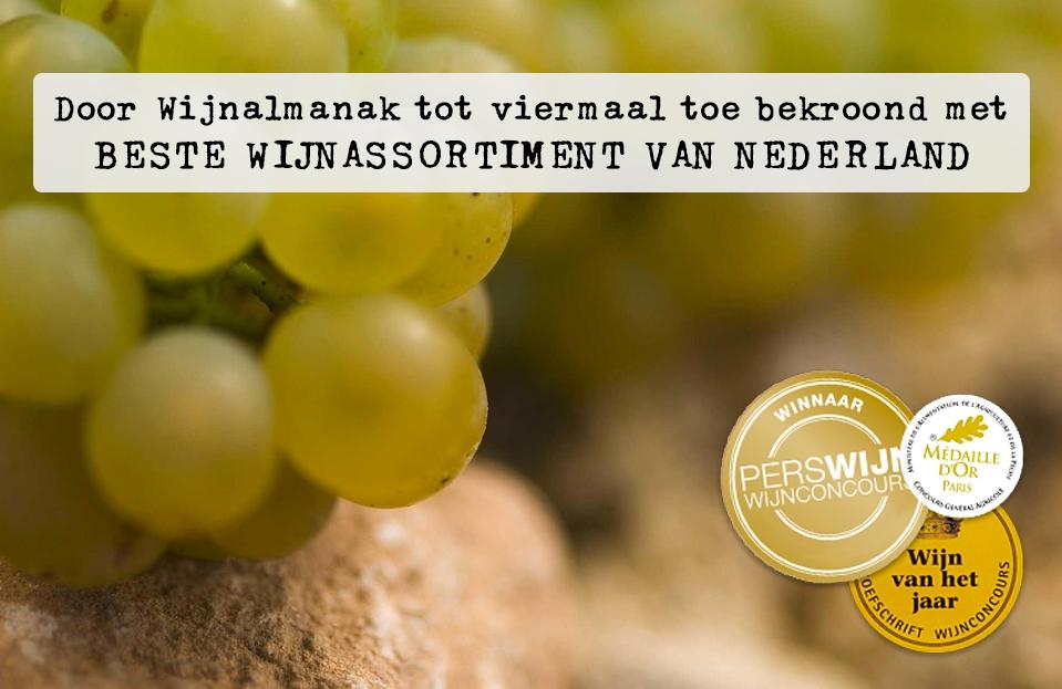 Beste wijnassortiment van Nederland