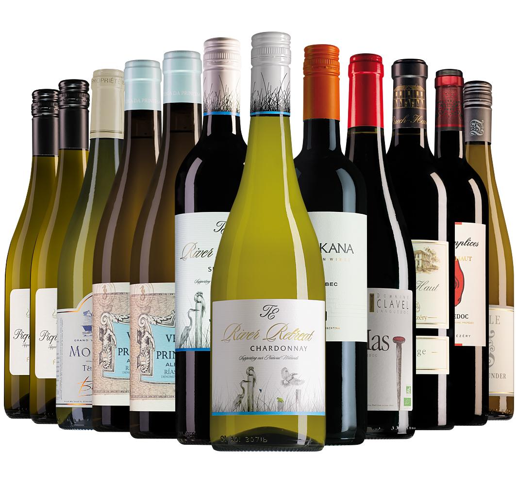 Proefpakket Wijnbericht september (12 flessen)