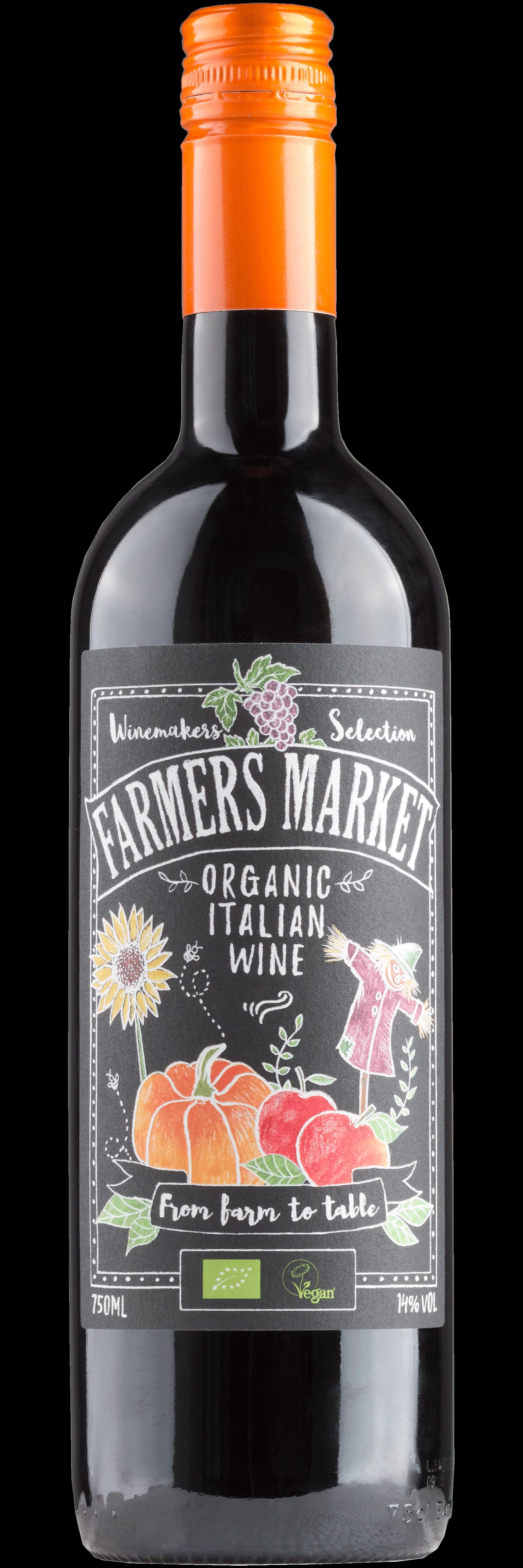 Farmers Market Organic Italian Wine