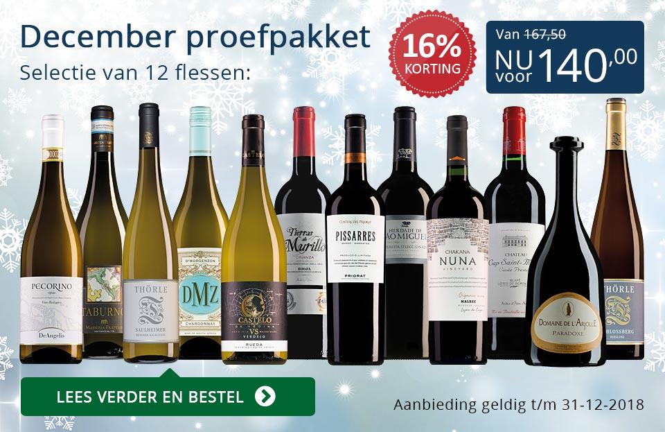 Proefpakket wijnbericht december 2018 (140,00) - blauw