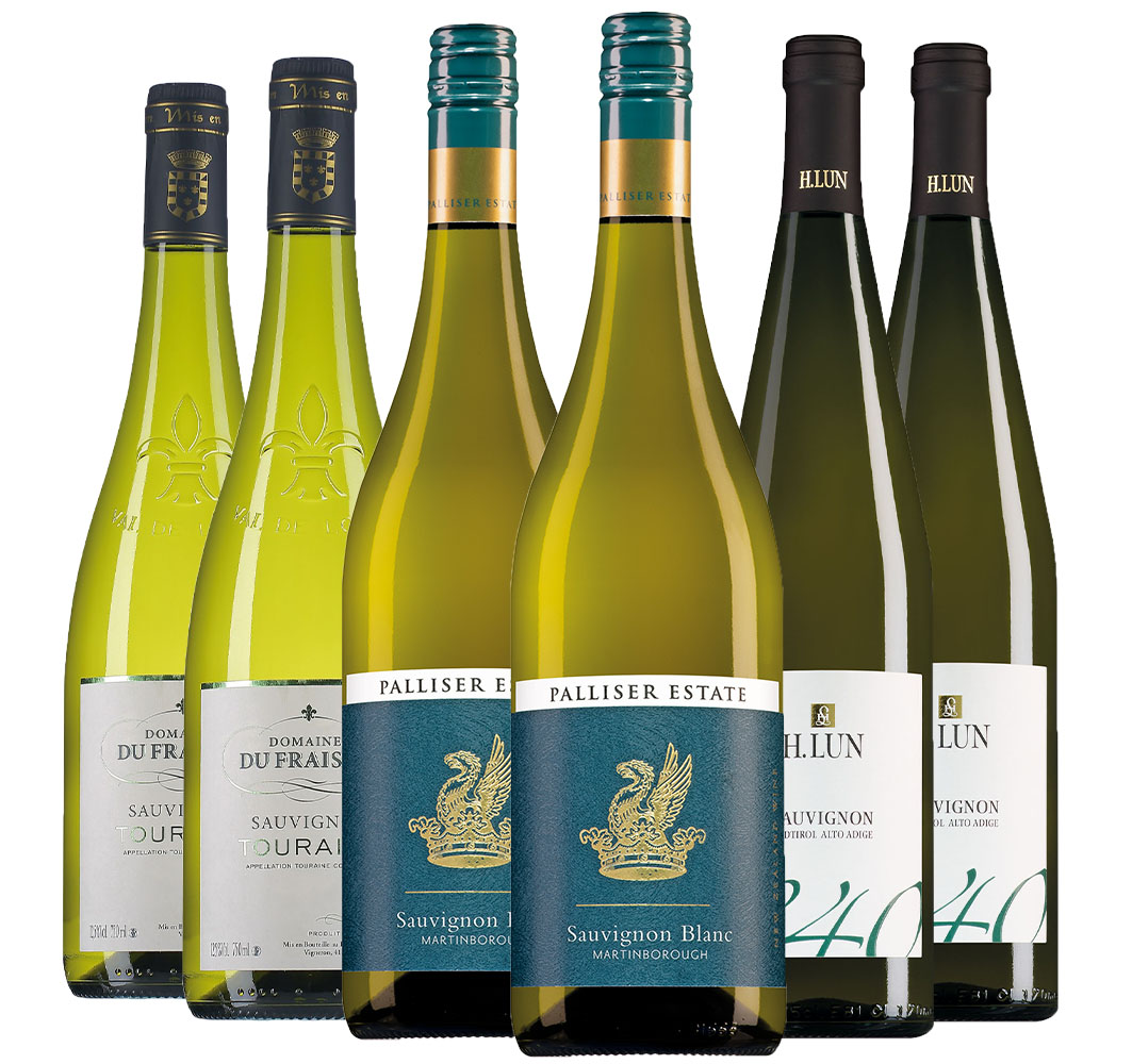 Wijnpakket Sauvignon Blanc (3x2 flessen)