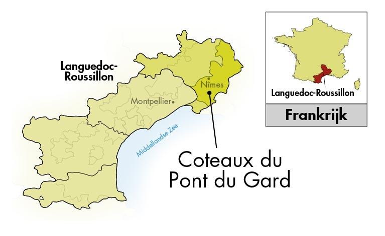 Château Mourgues du Grès Pont du Gard Rocky Nuns Viognier