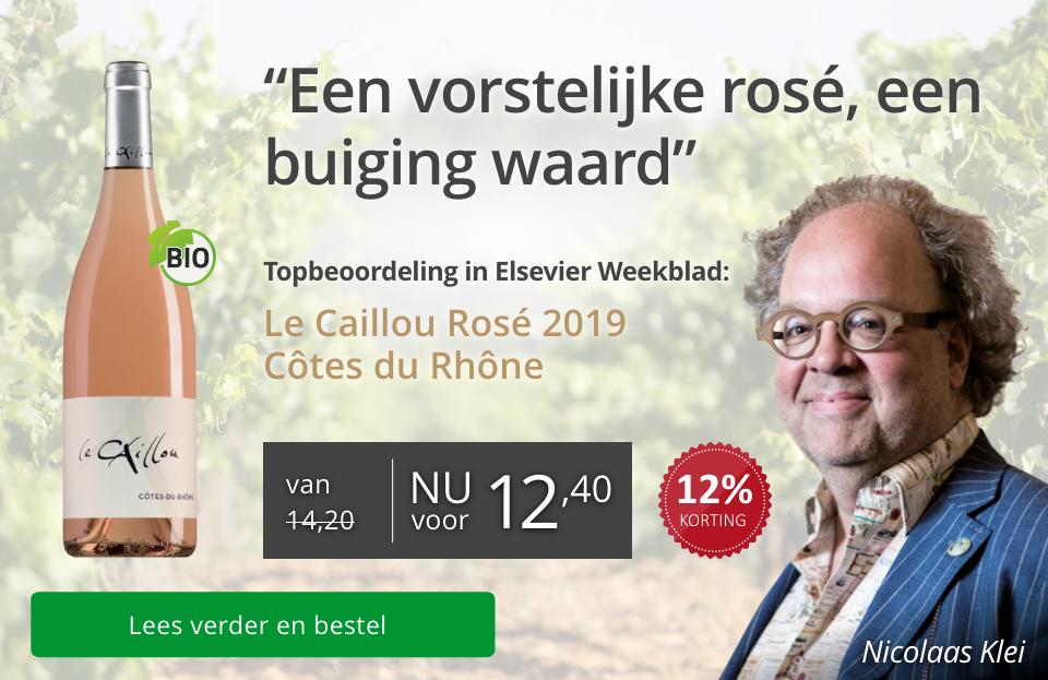 Elsevier Weekblad Le Caillou Rose 2019 - Goud/grijs