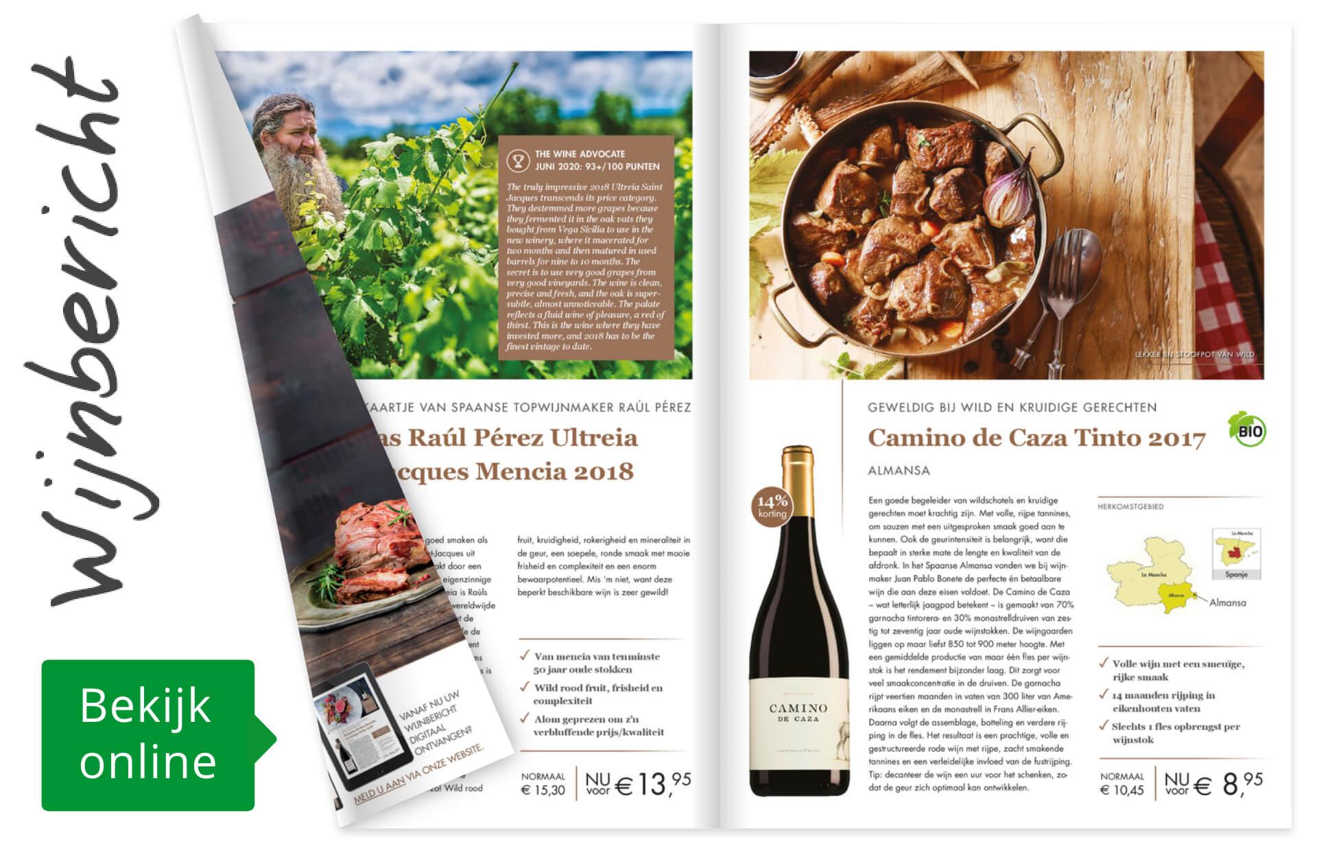 Online wijnbericht oktober 2020