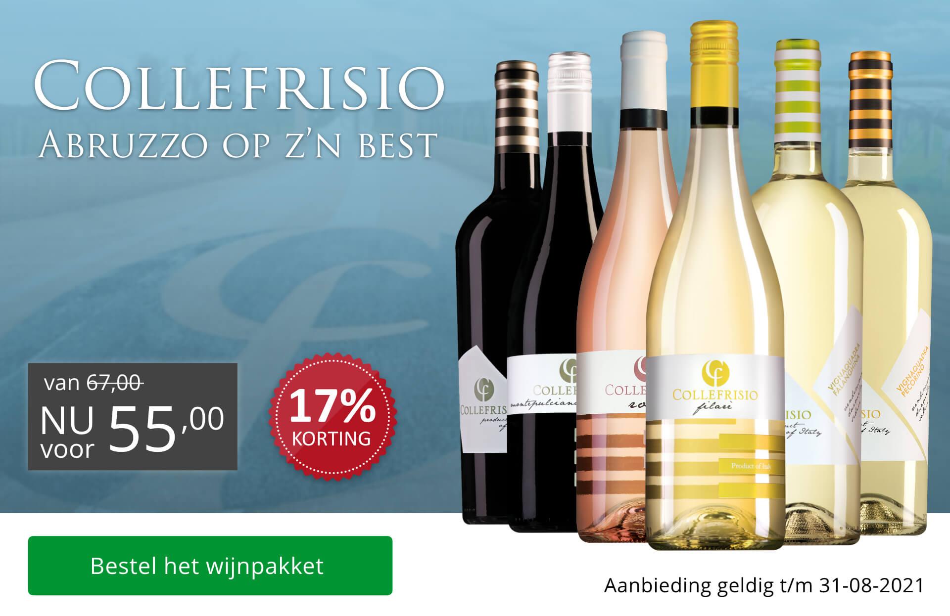 Wijnpakket Collefrisio - Abruzzo op zn best