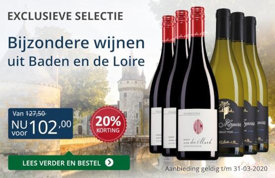 Wijnpakket bijzondere wijnen maart 2020 (102,00) - blauw